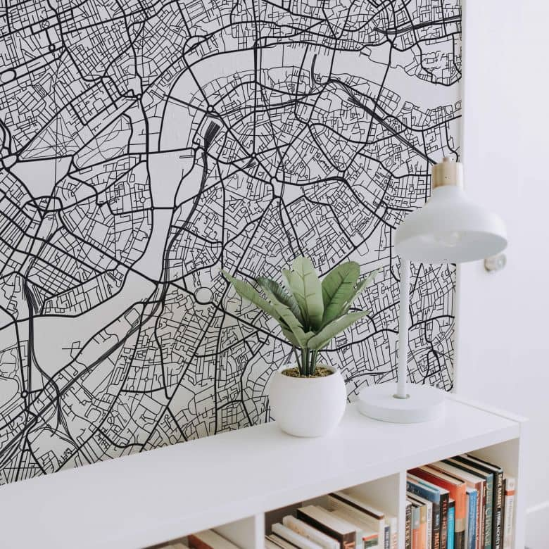 Fototapete Stadtplan London