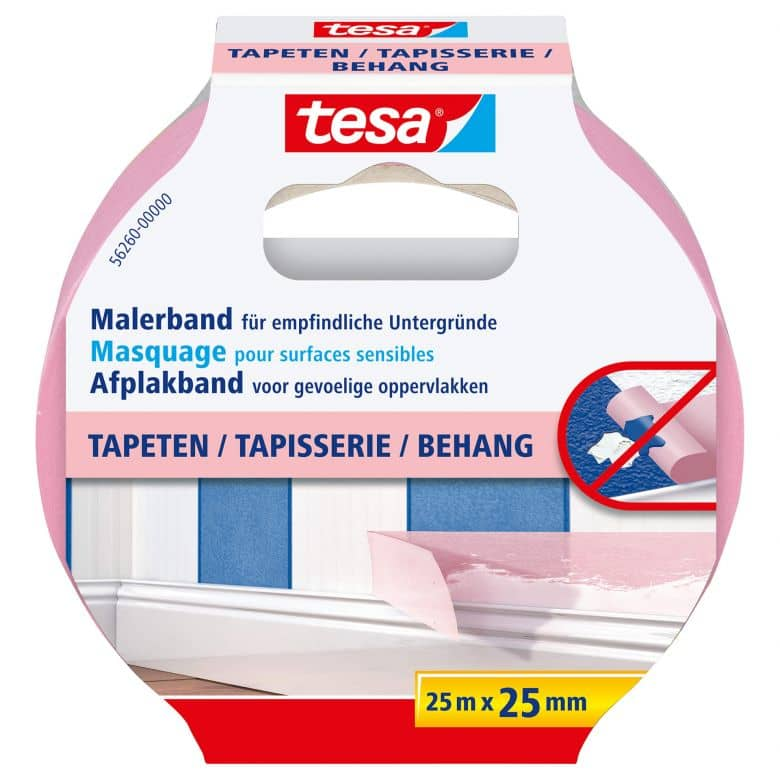 tesa® Malerband Tapeten 25m x 25mm