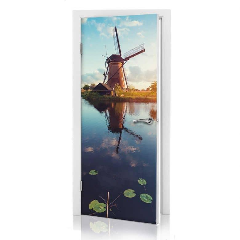 Türdesign Holländische Windmühle