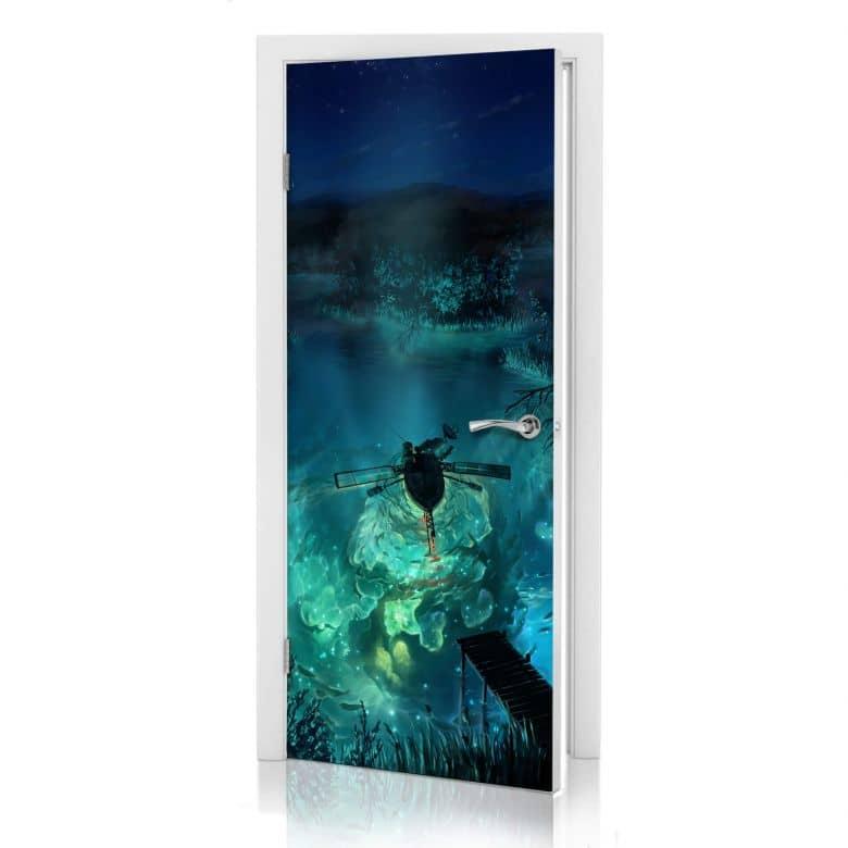 Türdesign aerroscape - Unterwasser Galaxie