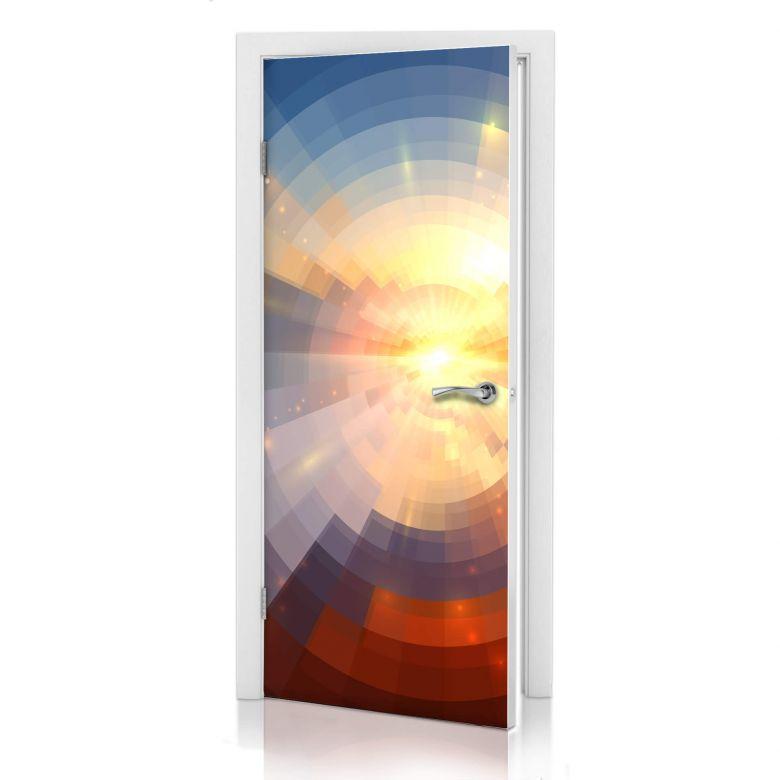 Türdesign - Sonnenuntergang im Mosaik