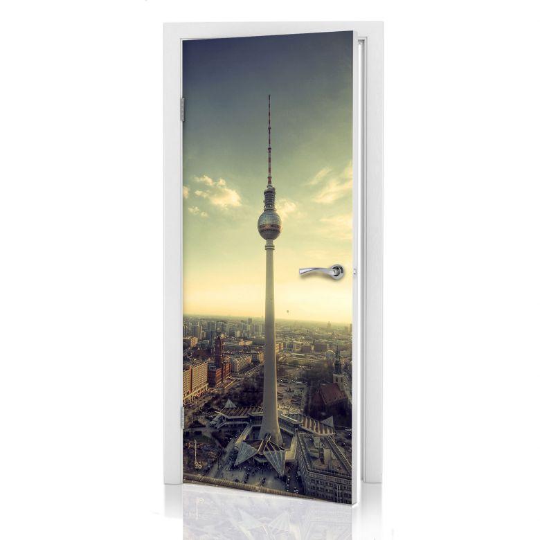 Türdesign Berliner Fernsehturm Panorama