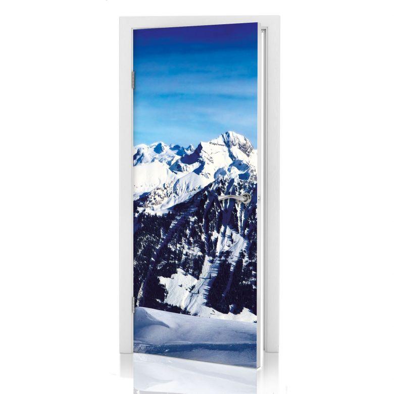 Türdesign Alpenpanorama