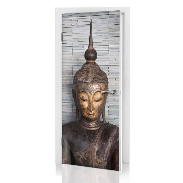 Adesivo per porta - Buddha