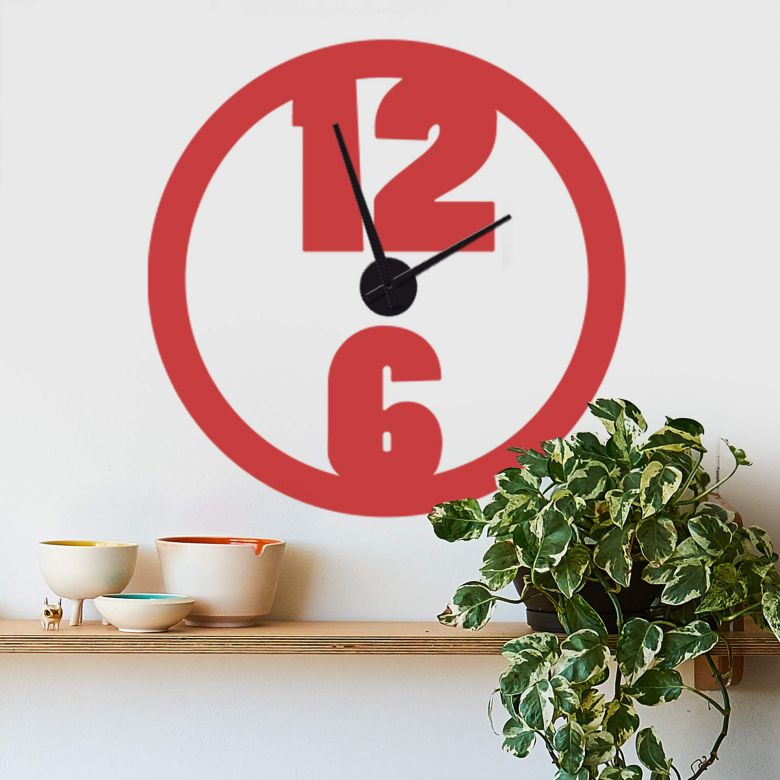 Modern Wall sticker + Clock