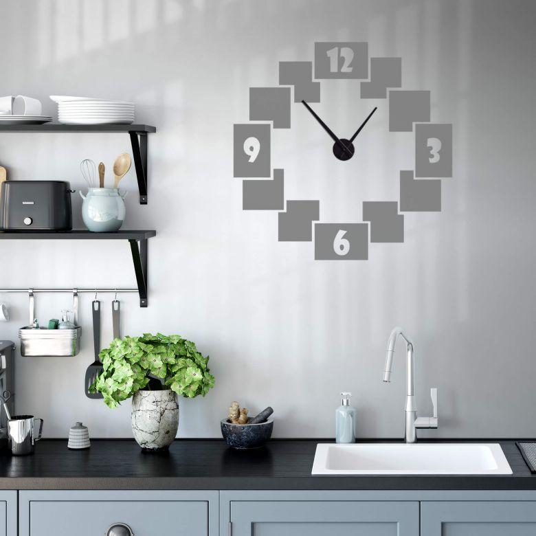 Steps Wall sticker + Clock