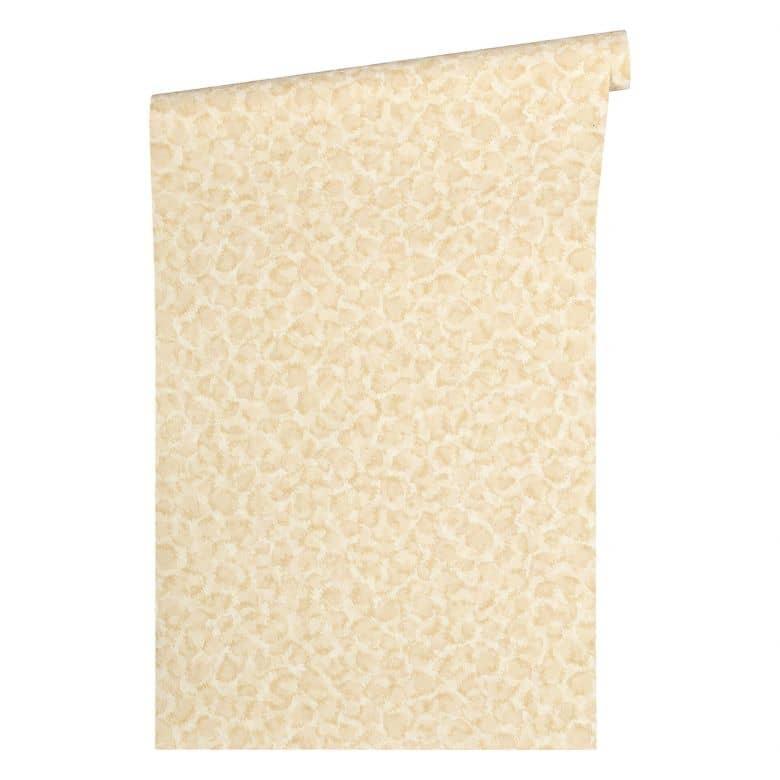 Versace wallpaper Tapete Vasmara beige, creme, metallic