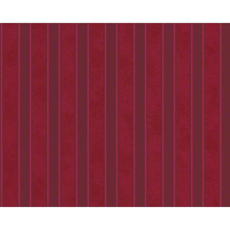 Mustertapete Versace Wallpaper Tapete Barocco & Stripes Rot