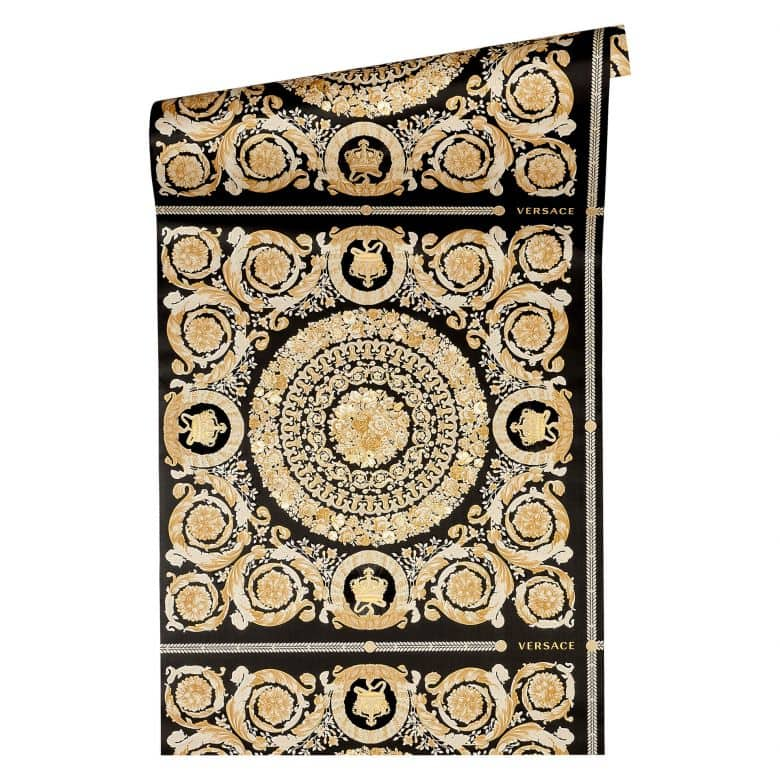 Versace Heritage wallpaper metallic