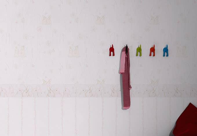 Livingwalls Papiertapete Lovely Friends creme