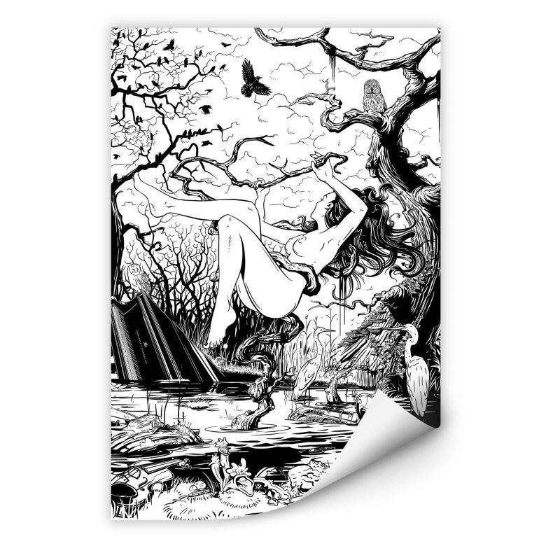 Wallprint Drawstore - Swapland