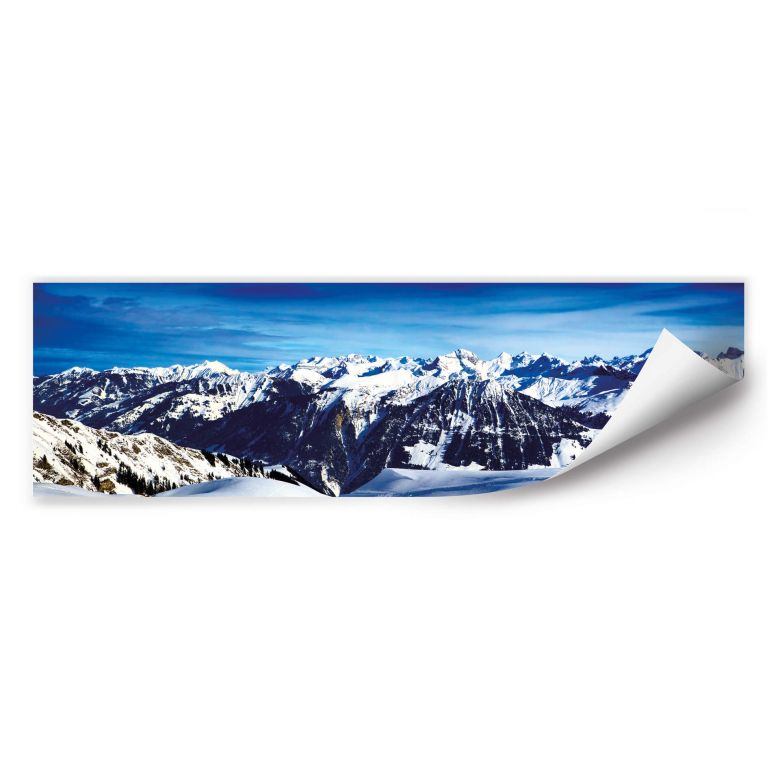 Wallprint W - Alpenpanorama