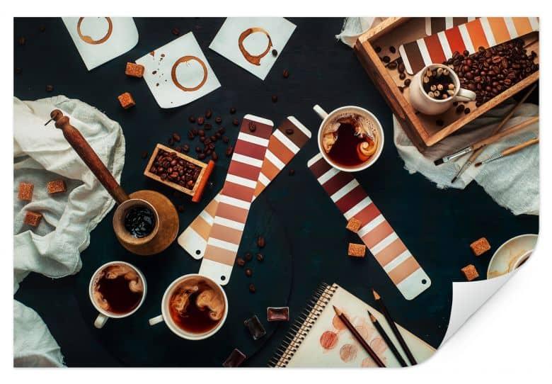 Wallprint Belenko - Shades of Coffee