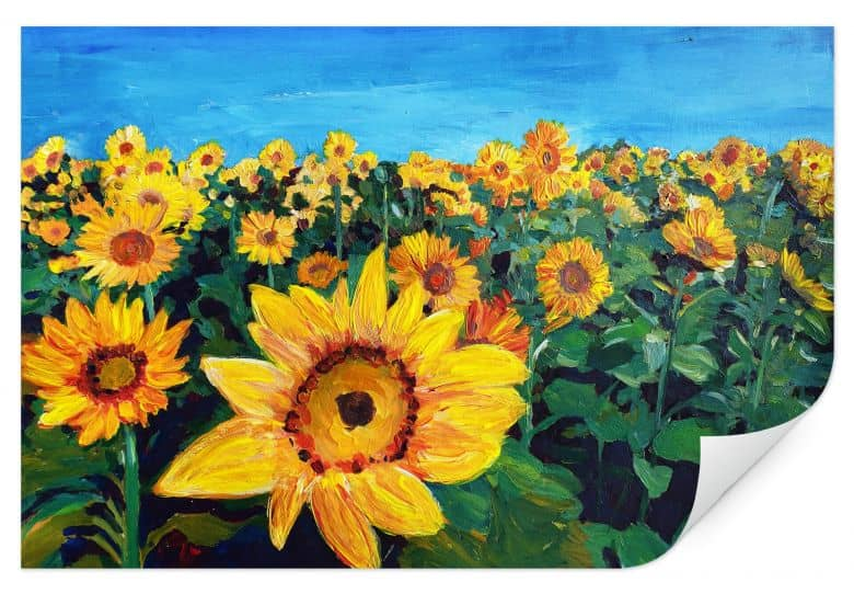 Wallprint Bleichner - Sunflower Fields