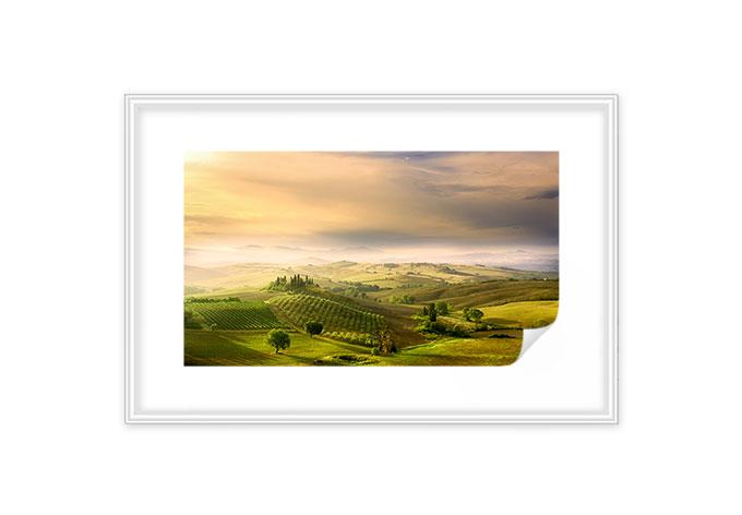 Wallprint + Zierleisten Bratkovic - Podere Belvedere