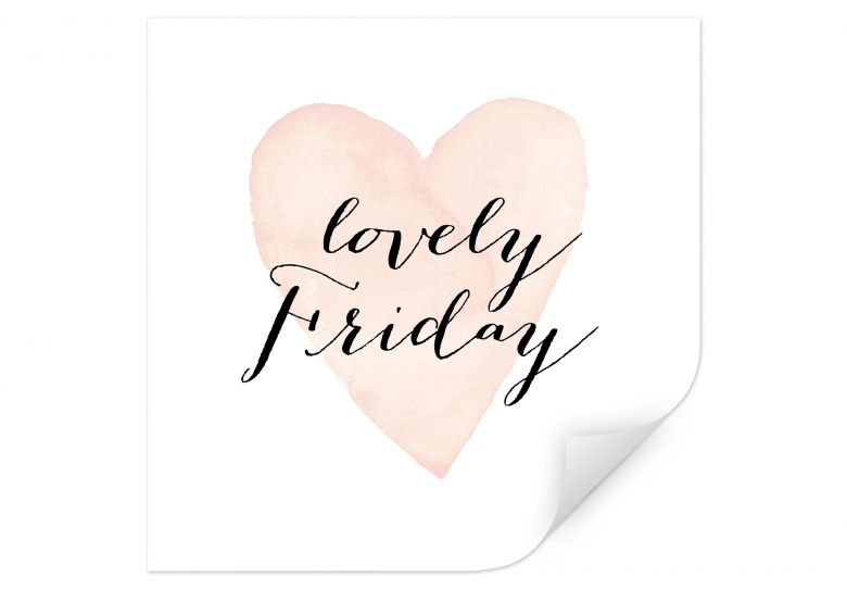 Wallprint Confetti & Cream - Lovely Friday