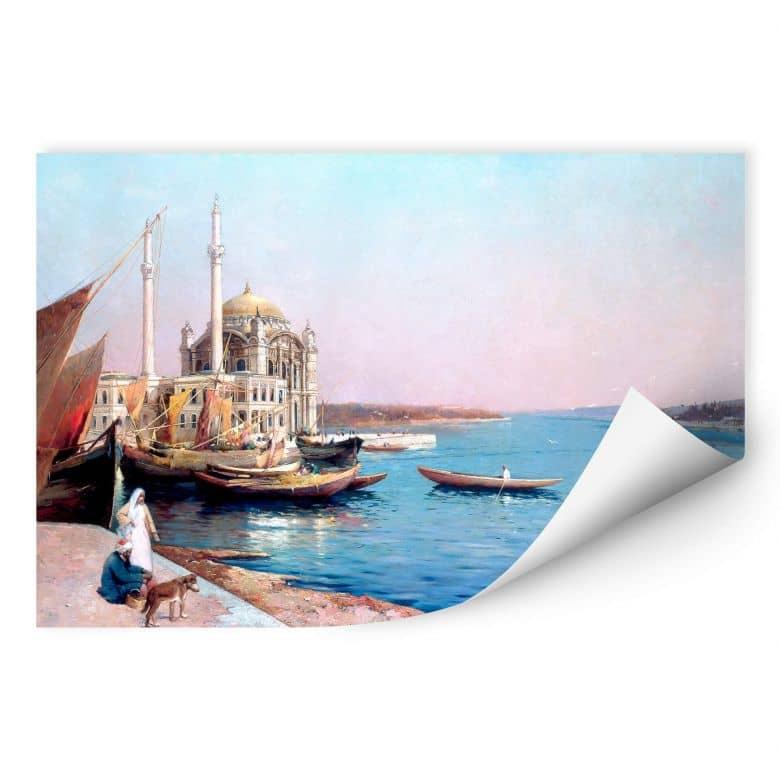 Wallprint Dellepiane - An den Ufern des Bosporus
