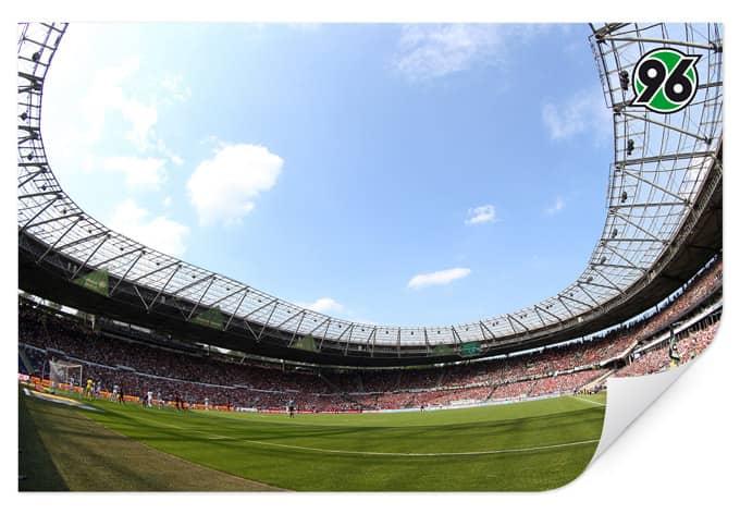 Wallprint W - Hannover 96 - Stadion Innenansicht