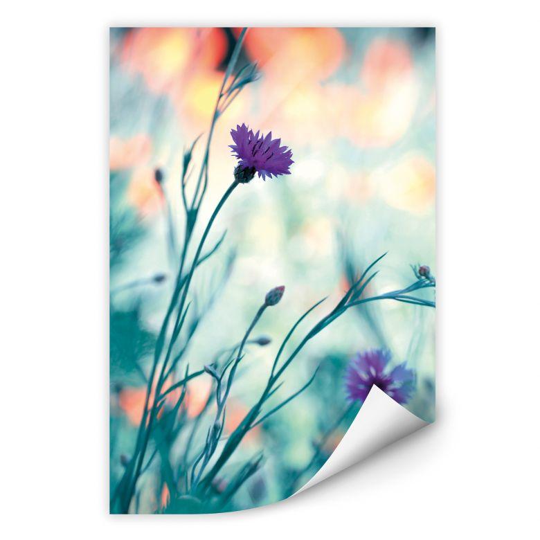 Wallprint Bravin - Luminous purple