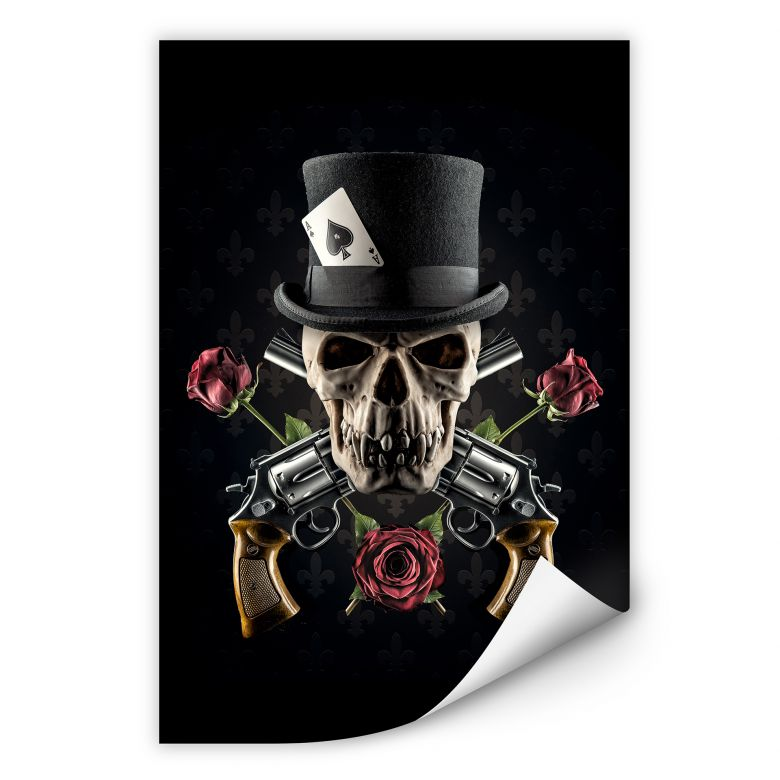 Wallprint Damstén - Guns and Roses