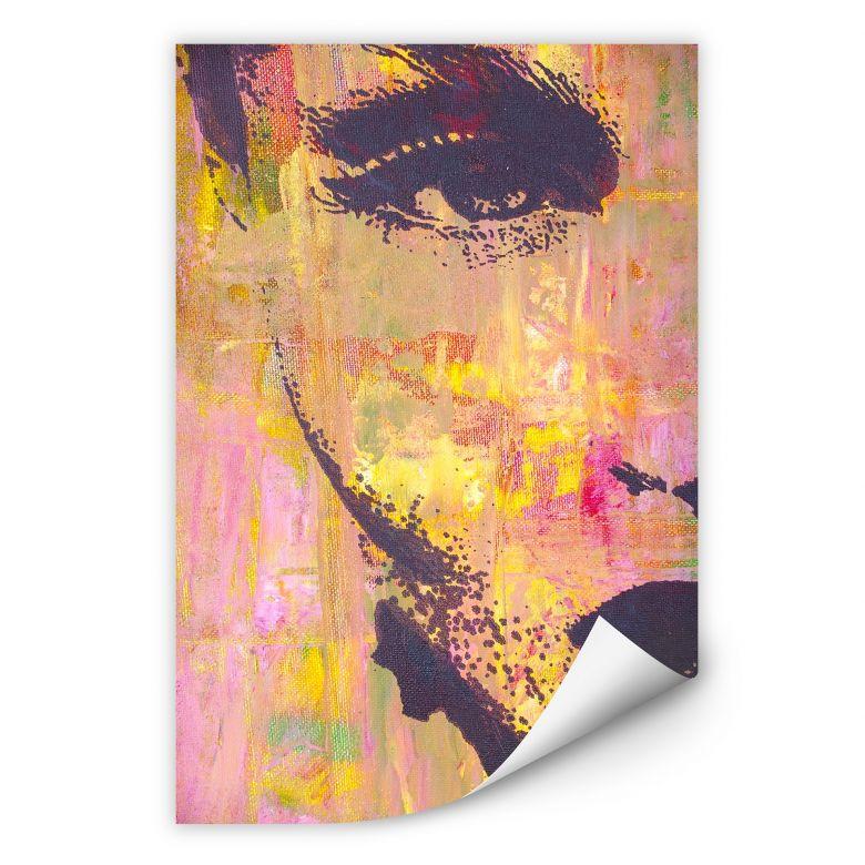 Wallprint W - Popart-Portrait