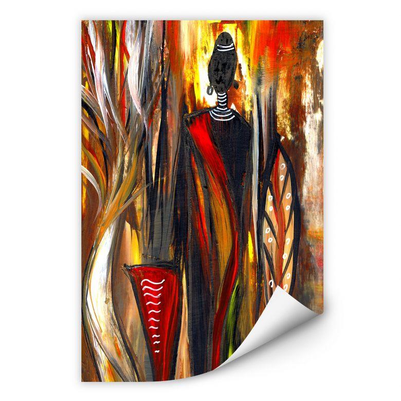 Wallprint W - Niksic - Art of Africa 02