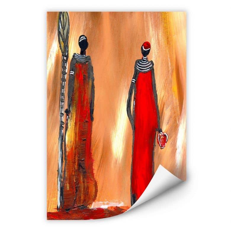Wallprint W - Niksic - Art of Africa