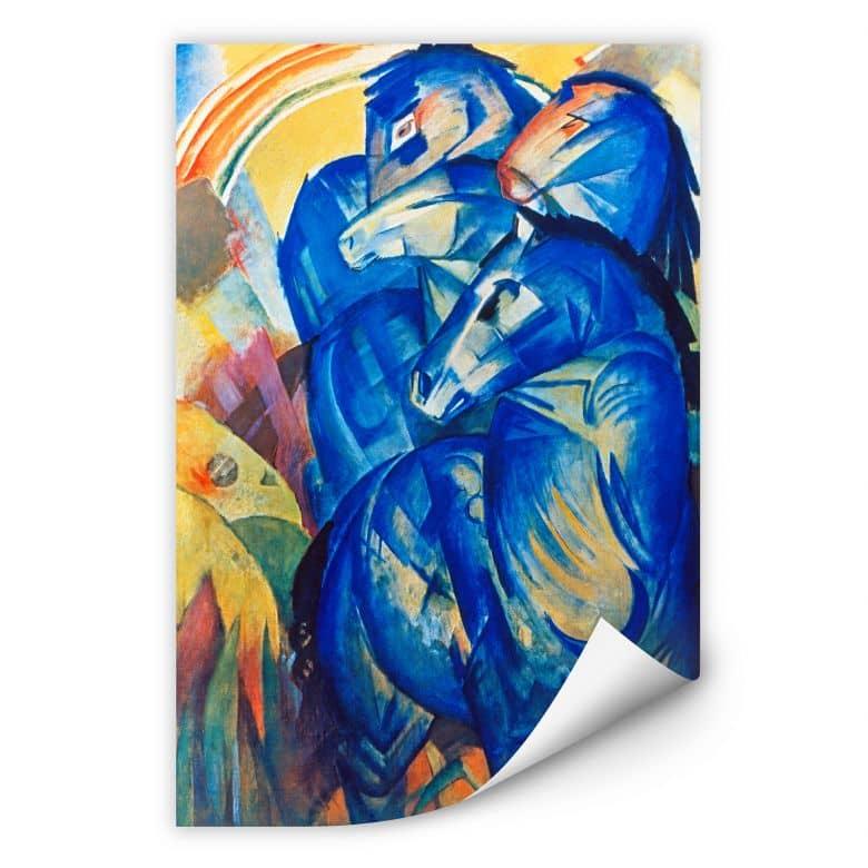 Wallprint W - Marc - Turm der blauen Pferde