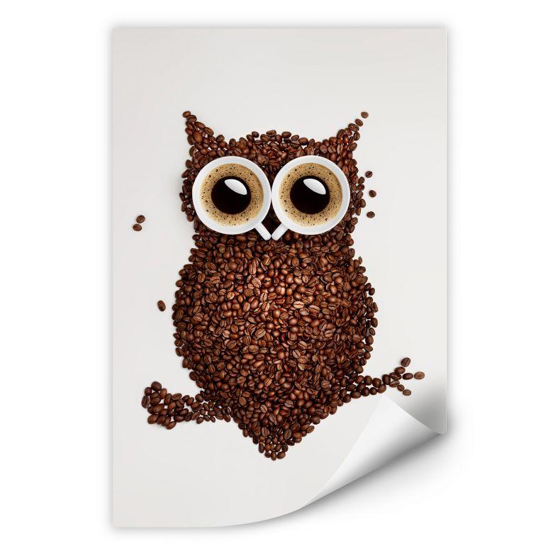Wallprint W - Kaffeeeule