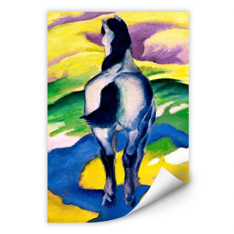 Wallprint W - Marc - Blaues Pferd II