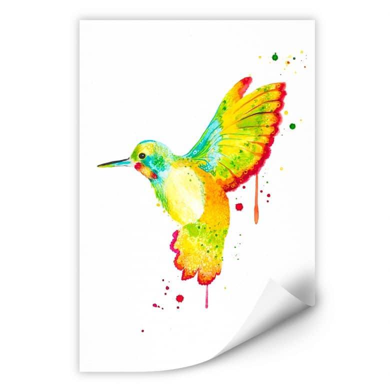 Wallprint W - Buttafly - Kolibri