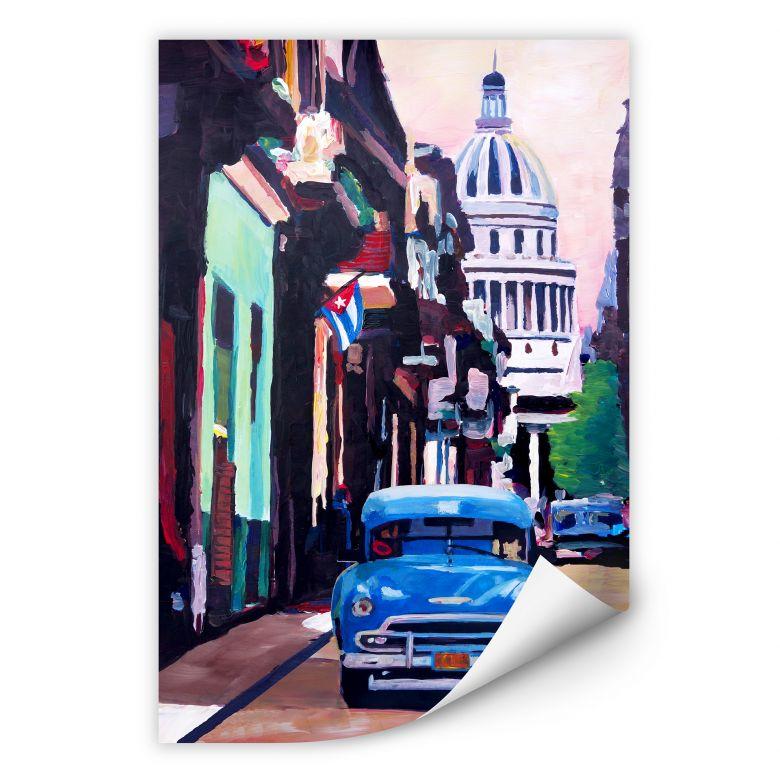 Wallprint Bleichner - Havanna-Feeling