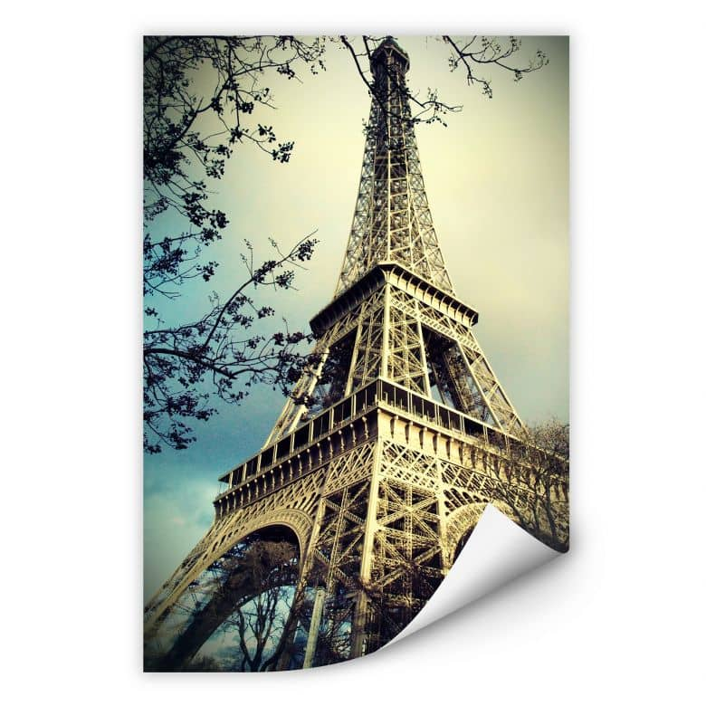 Wallprint W - Paris Eiffelturm