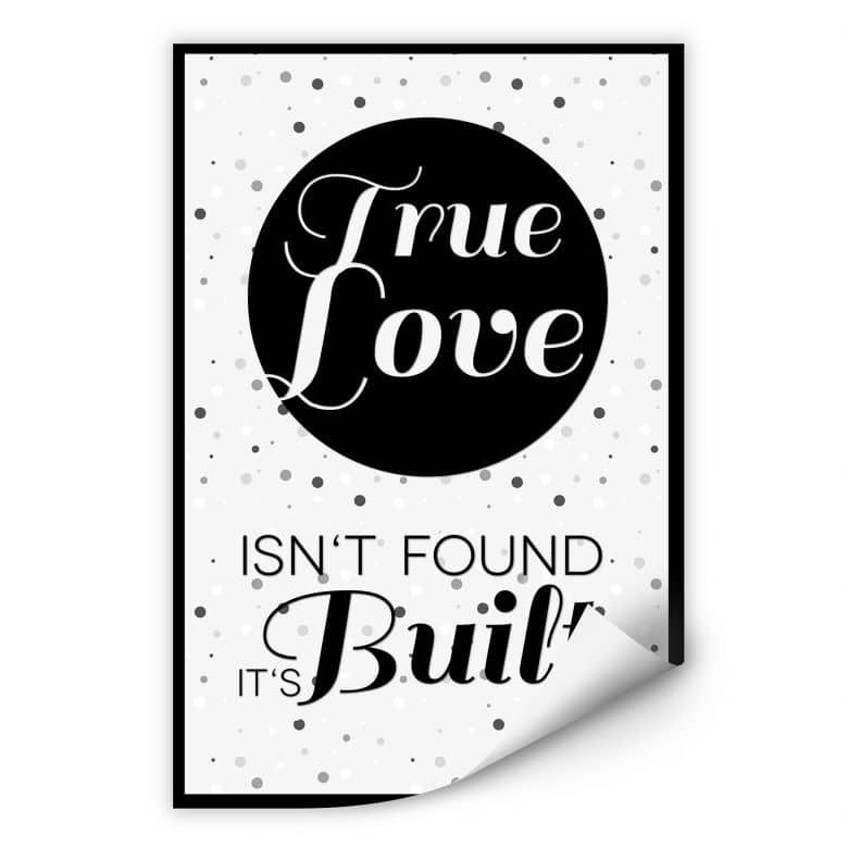 Wallprint True Love