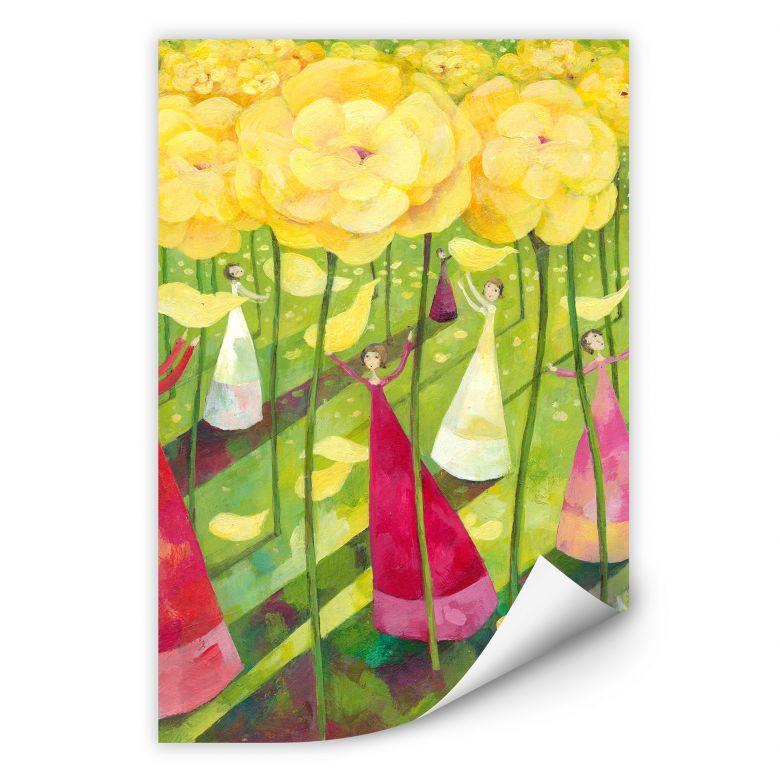 Wallprint Blanz - Blumenwiese