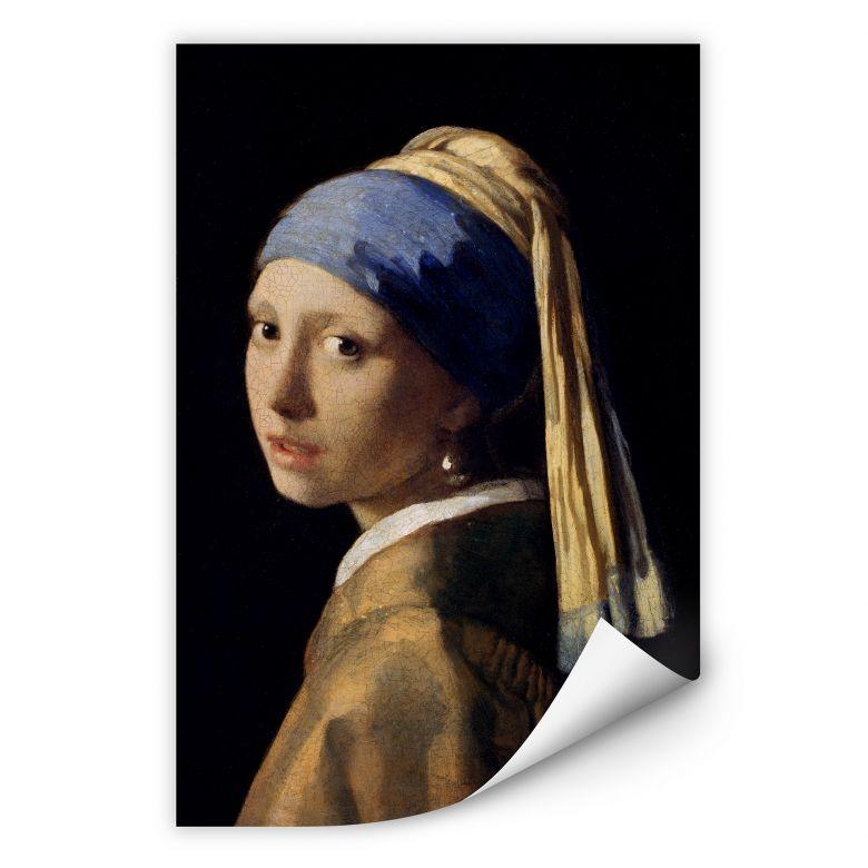 Wallprint Vermeer - Das Mädchen mit dem Perlenohrgehänge