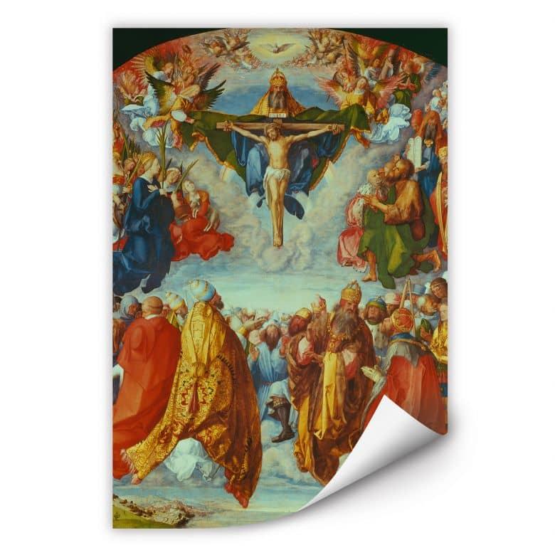 Wallprint Dürer - Das Allerheiligenbild