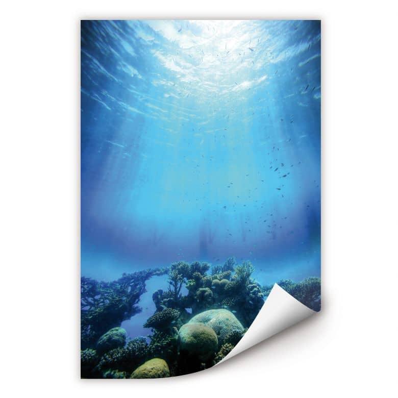 Wallprint W - Deep Blue