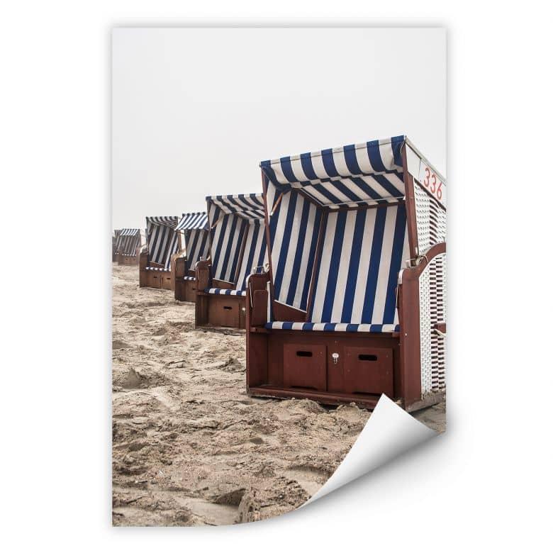 Wallprint W - Strandkorb auf Norderney