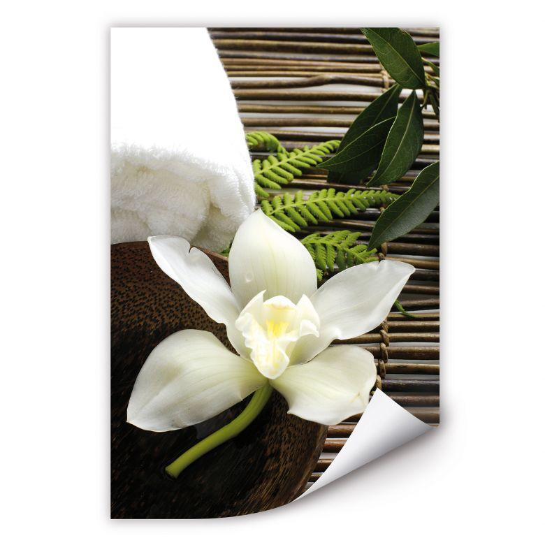 Wall print Wellness Orchid