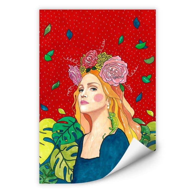 Wallprint- Hülya - Madonna
