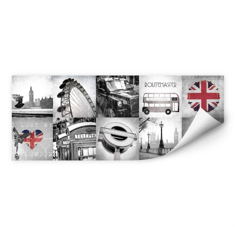Wallprint Impressions of London - Panorama