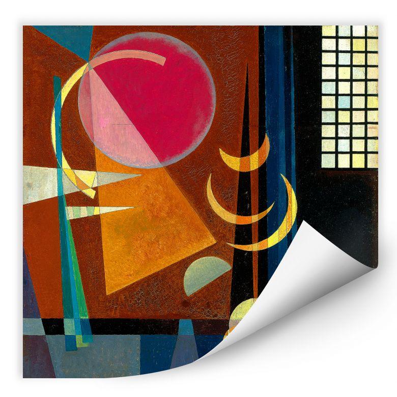 Wallprint Kandinsky - Scharf und ruhig