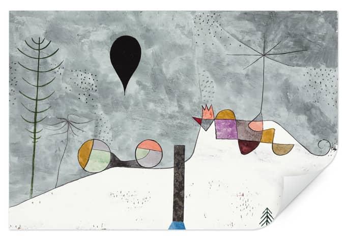 Wallprint Klee - Winterbild