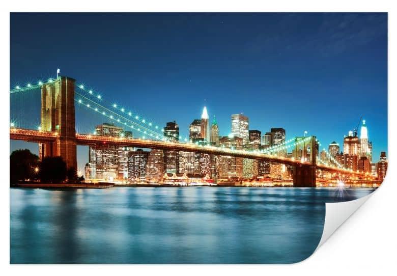 Wallprint - Lights in New York City 02