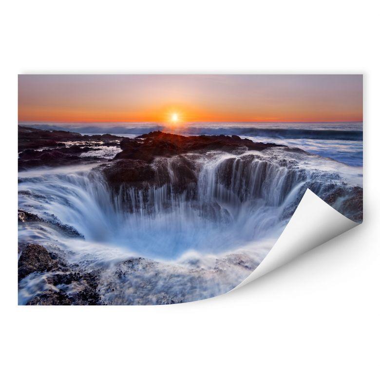 Wallprint Morgan - Oregon Thor's Well