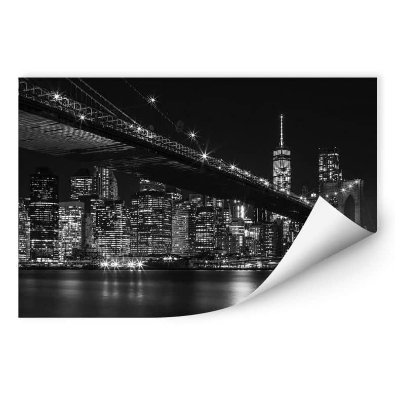 Wallprint New York bei Nacht
