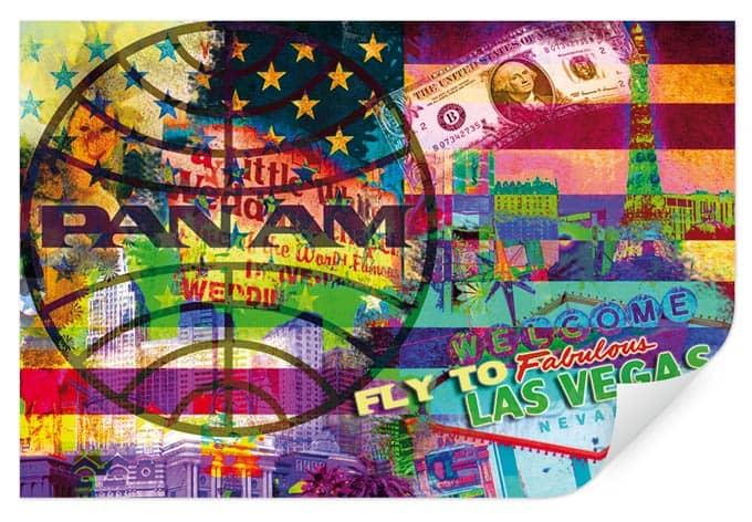 Wallprint PAN AM - Las Vegas