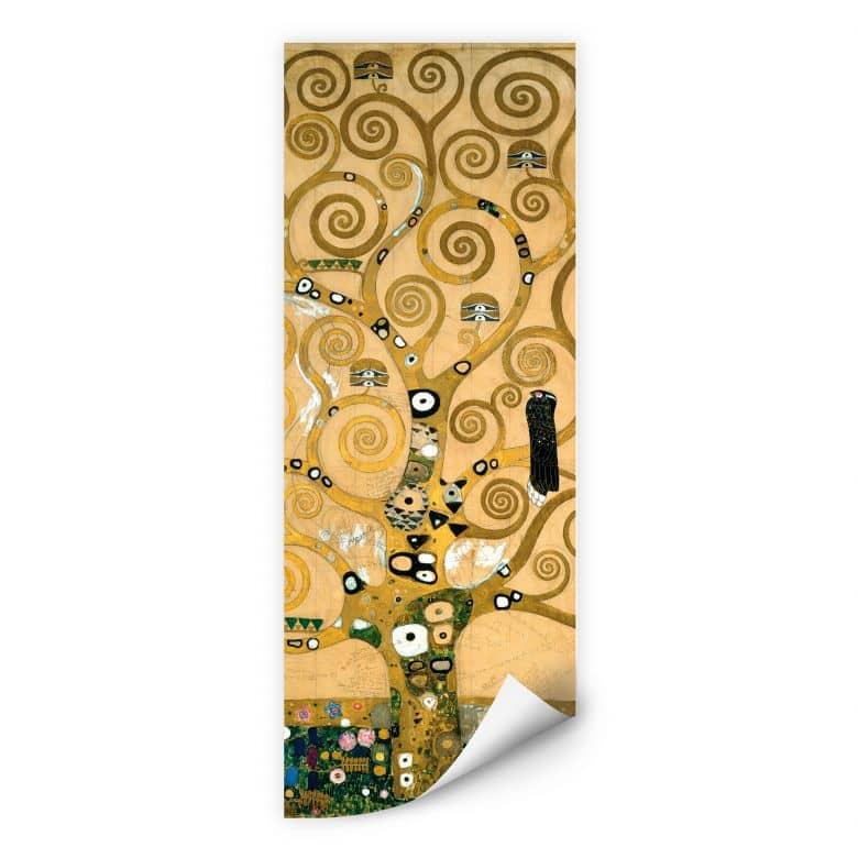 Wallprint W - Klimt - Der Lebensbaum