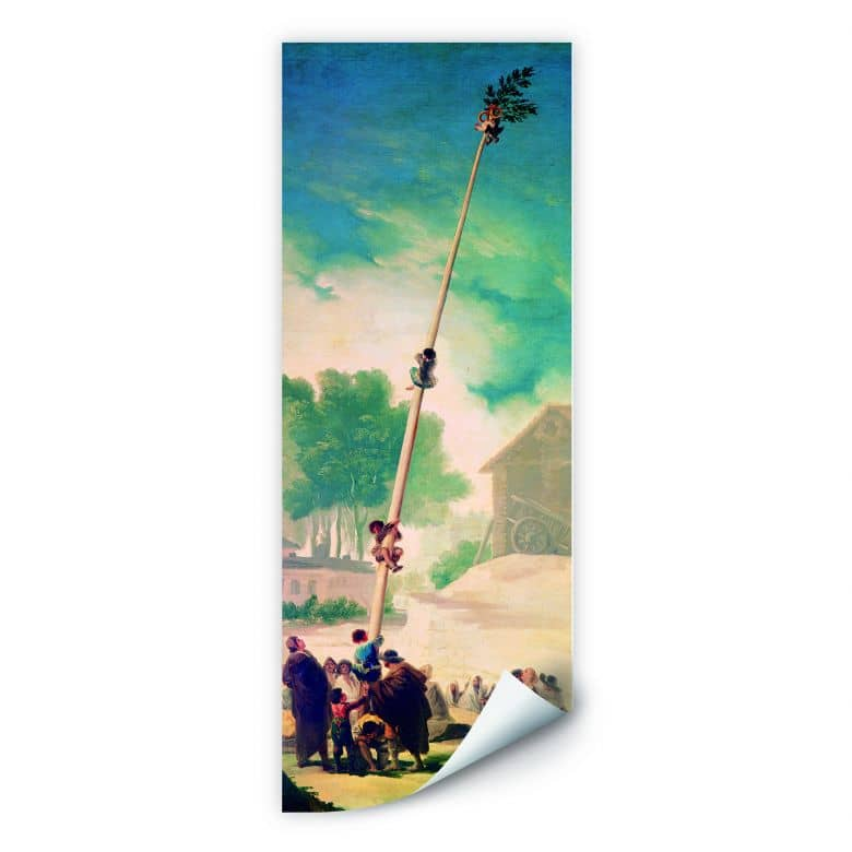Wallprint de Goya - Der Maibaum - Panorama